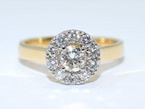 custom halo engagement rings winnipeg