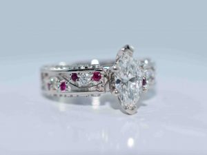 marquise diamond engagement ring winnipeg