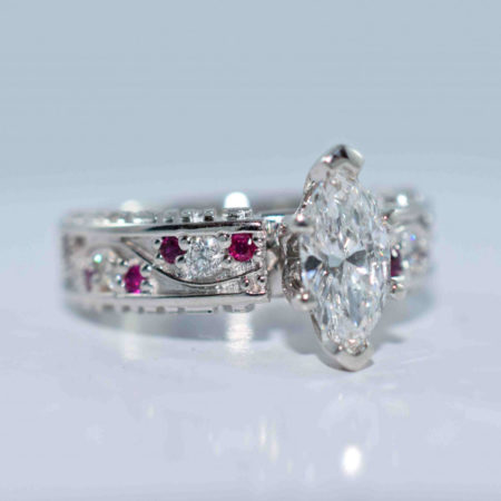 marquise diamond engagement ring winnipeg