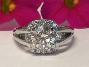 platinum engagement rings winnipeg