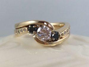 wpg engagement wedding ring set