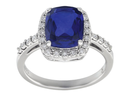 Click the image to check out some of our sapphire engagement rings. Five Year Engagement Ring