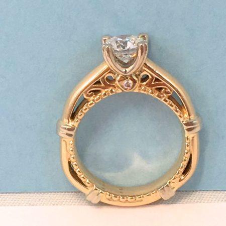 custom vintage engagement rings winnipeg