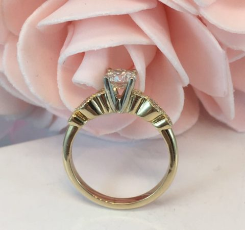 custom vintage engagement rings winnipeg