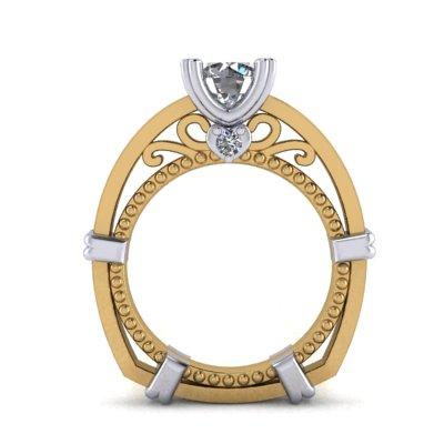 custom vintage engagement rings in winnipeg