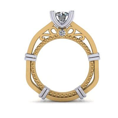 custom vintage winnipeg engagement rings