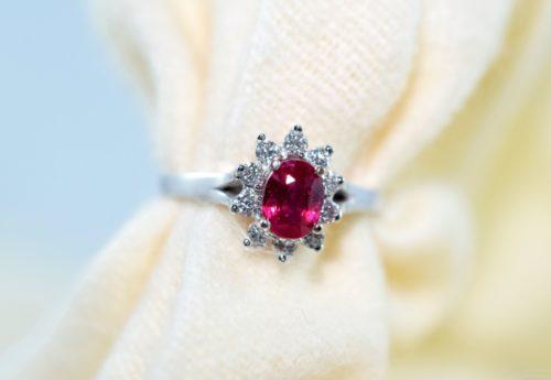 ruby engagement rings winnipeg custom jewelry