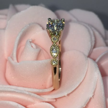 vintage engagement rings winnipeg custom