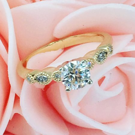 vintage wedding engagement rings winnipeg