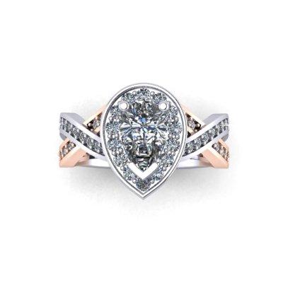 pear shaped diamond engagement rings winnipeg