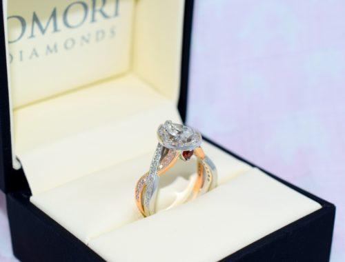 pear shaped diamond rings winnipeg engagement