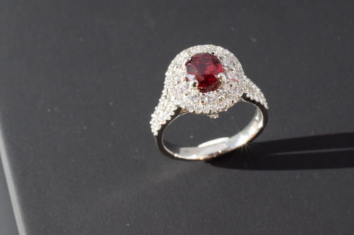 ruby and platinum ring winnipeg