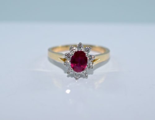 ruby engagement rings winnipeg