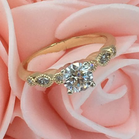 ring engagement pricescope with cad profile finished process journal diamond jewelry wink custom rings design