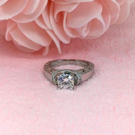 platinum vintage engagement rings winnipeg