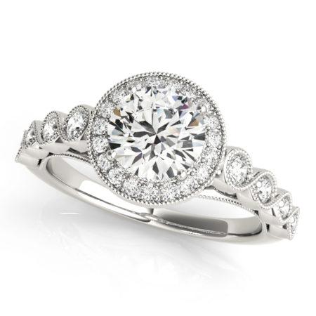 halo moissanite engagement rings winnipeg
