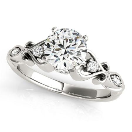 moissanite engagement rings canada