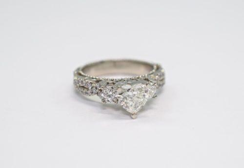 heart diamond engagement rings winnipeg