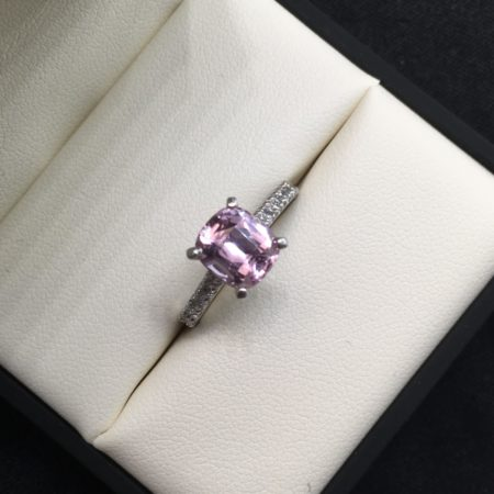 omori diamonds sapphire engagement ring