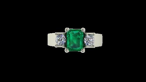 custom emerald rings winnipeg