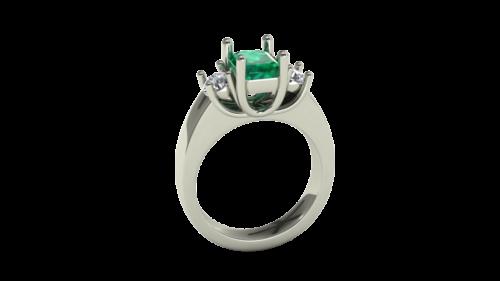 winnipeg emerald rings custom