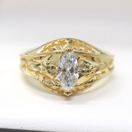 omori diamonds engagement ring