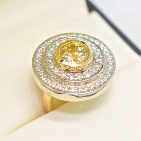 yellow sapphire rings winnipeg