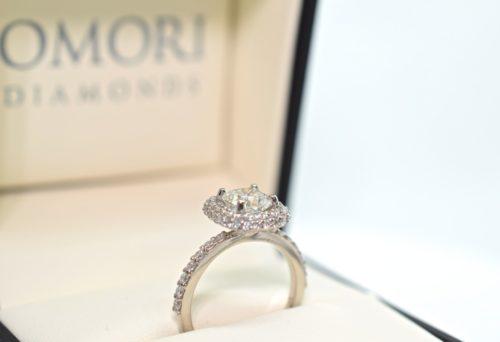 cushion cut engagement rings winnipeg