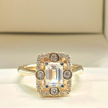 emerald cut diamond engagement rings winnipeg