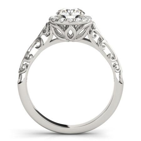 halo vintage engagement ring winnipeg