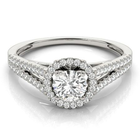 split band halo engagement rings winnipeg