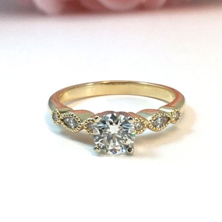 vintage engagement rings instagram