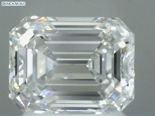 vvs emerald cut diamonds