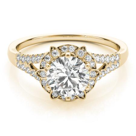 yellow gold halo engagement rings winnipeg
