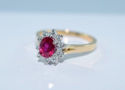 ruby engagement rings in winnipeg