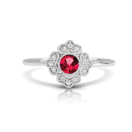 ruby engagement rings winnipeg