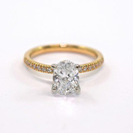 side stone engagement rings winnipeg