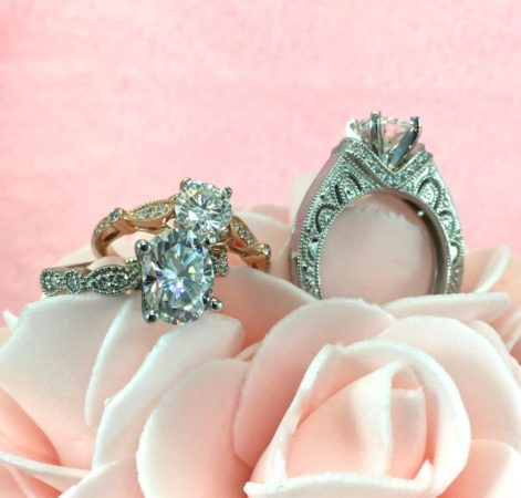 vintage moissanite engagement rings winnipeg
