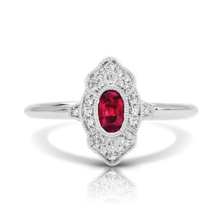 art deco engagement rings