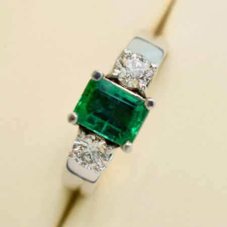 emerald engagement ring winnipeg
