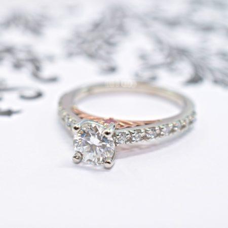 unique engagement rings winnipeg