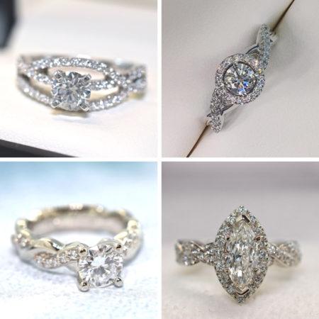 infinity band engagement rings winnipeg