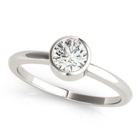 bezel set engagement rings winnipeg