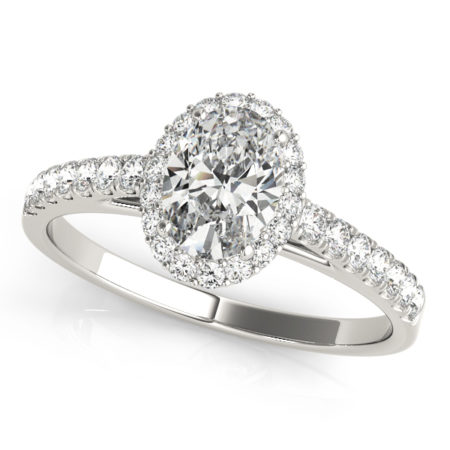 oval engagement ring in winnipeg