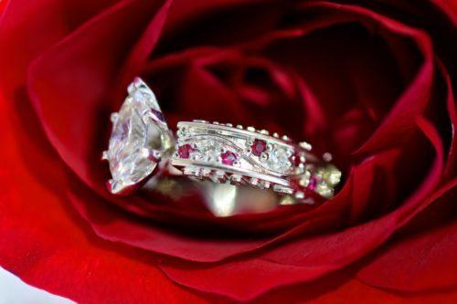 ruby engagement ring design winnipeg