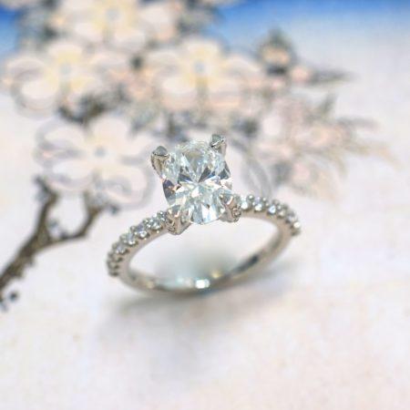 oval engagement rings winnipeg