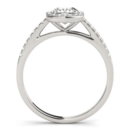 cushion diamond halo ring omori