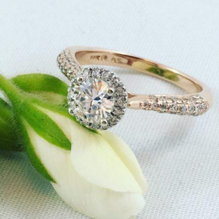custom rose gold jewelry winnipeg