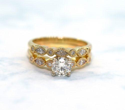 diamond rings april birthstone