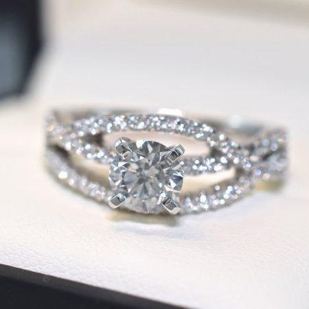 infinity band custom jewelry